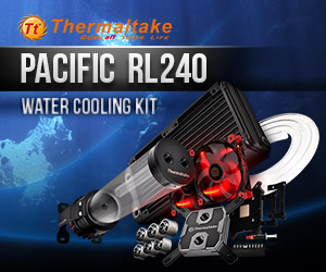 THERMALTAKE PACIFIC RL240 WATER COOLING KIT 240MM RADIATOR