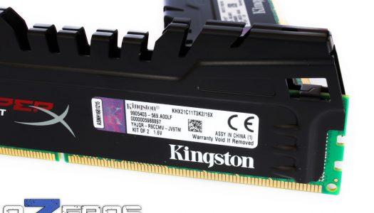 Review: Kingston HyperX Beast 2133 MHz 2x8GB