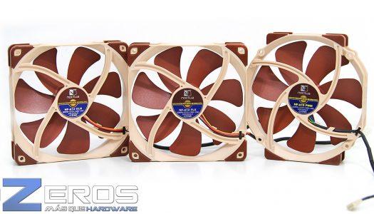 """Review: Roundup de ventiladores Noctua """"NF-A Series"""""""