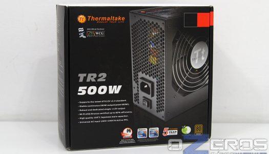 Review: Fuente de poder Thermaltake TR2 500W