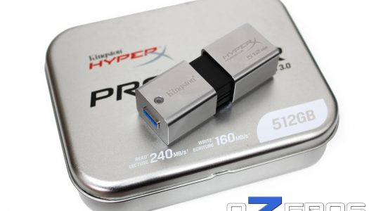 Review: Pendrive Kingston HyperX Predator de 512GB USB 3.0