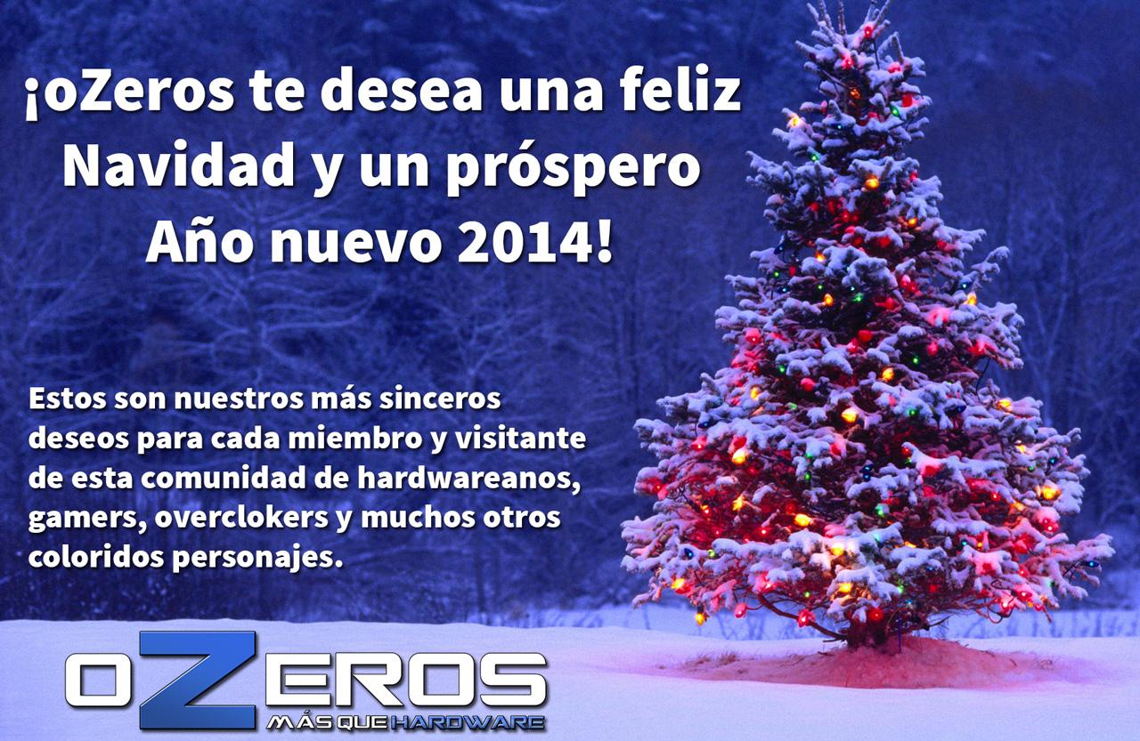 Deseos Para Feliz Navidad.Ozeros Te Desea Una Feliz Navidad Y Un Prospero Ano Nuevo