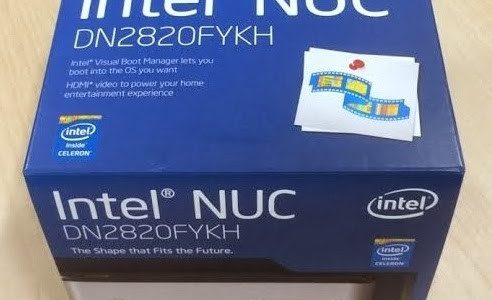 "Intel NUC Celeron ""Bay Trail"", Mini PC para bolsillos cortos"