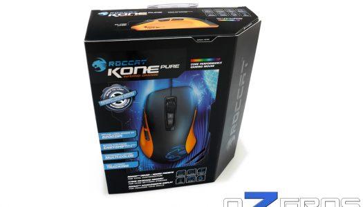 Review: Mouse Roccat Kone Pure Color Edition y Mousepad Roccat Sense