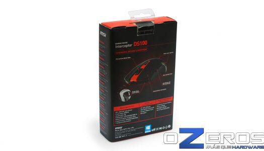 Review: Mouse para juegos MSI Gaming Interceptor DS100
