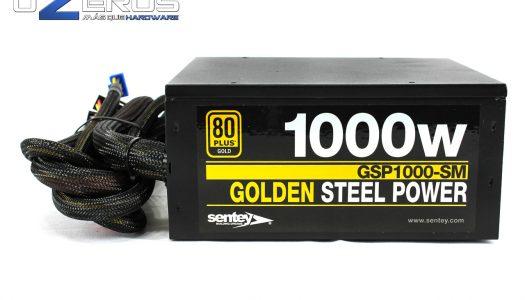 Review: Fuente de poder Sentey de 1000w Gold GSP-1000-SM