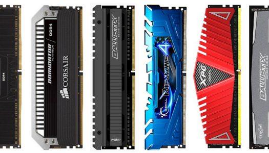 Modulos DDR4 listos para preventa – Se avistan Corsair, G.Skill, Avexir y Crucial