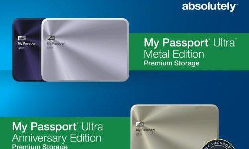 Western Digital revela la Edicion de Aniversario de las unidades My Passport – 2TB en tu bolsillo