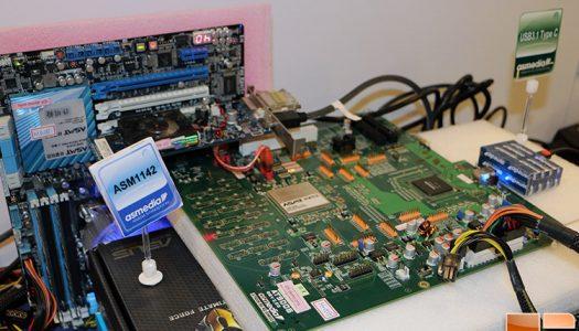 ASMedia muestra en vivo el nuevo USB 3.1 – más de 800MB/s con el conector Tipo C reversible