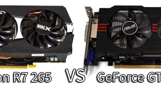 AMD Radeon R7 265 vs NVIDIA GeForce GTX 750 Ti: La batalla por el máximo rendimiento al mismo precio