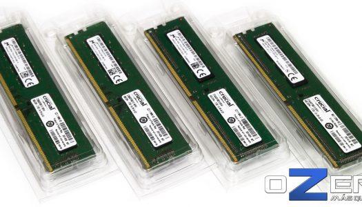 Review: Memorias DDR4 Crucial, módulos value de 4 GB y 8 GB 2133 MHz