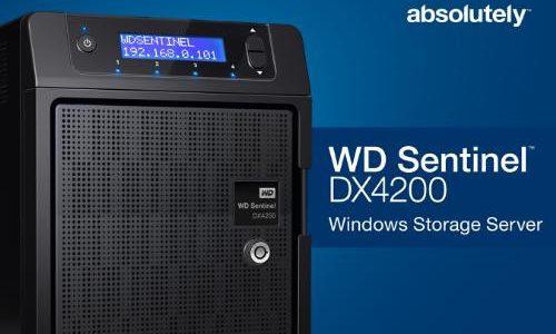 Western Digital Lanza el WD Sentinel DX4200 – Servidor de Almacenamiento SMB