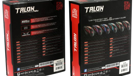 "Review: Thermaltake Talon Blue & Color, ""Arde a través de la competencia"""