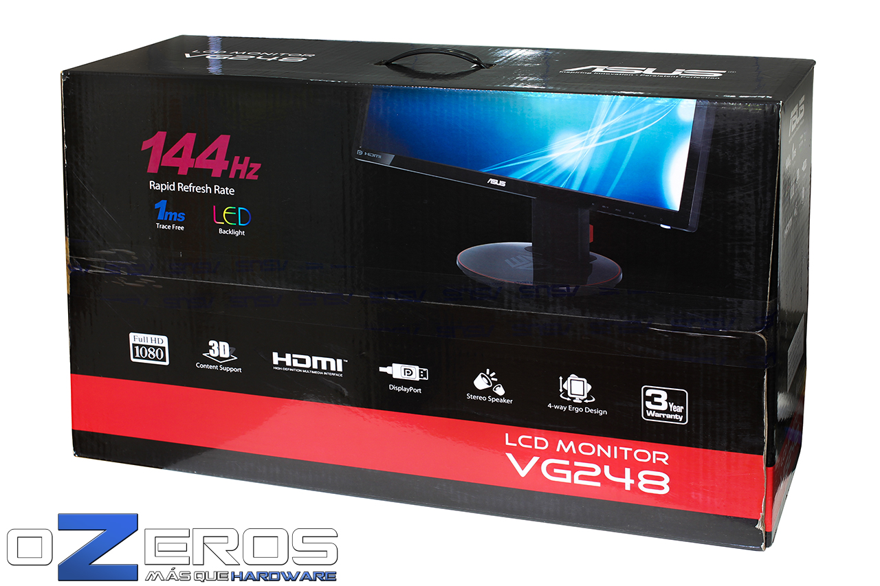 Review: Monitor Gamer Asus VG248QE, 1080p Full HD, 144 Hz de