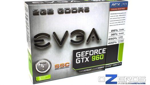 Review: Tarjeta Gráfica EVGA GTX 960 Super SuperClocked ACX 2.0+