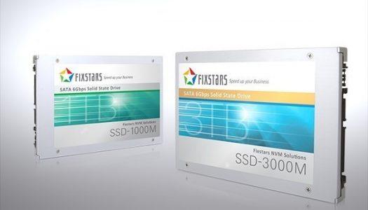 Fixstars lanza las unidades SSD más grandes del mercado con 1TB y 3TB de capacidad