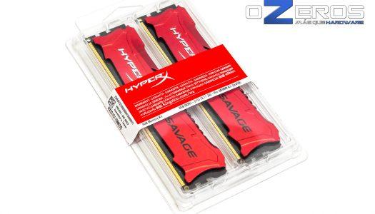 Review: Memorias RAM HyperX Savage 8GB DDR3 2133 CL11 (HX321C11SRK2/8)