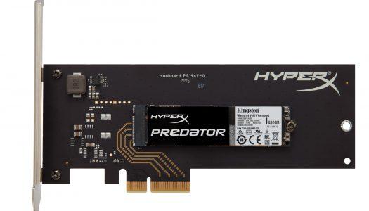 Kingston anuncia la disponibilidad de su SSD PCIe HyperX Predator y capacidades ¿$1USD = 1GB?