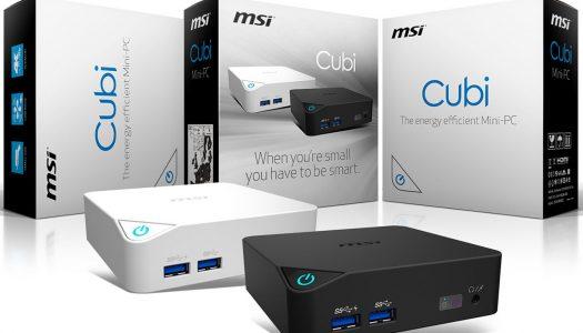 MSI lanza su nueva línea de Mini-PC llamada Cubi