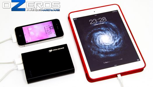 Review: Batería externa Cougar Smart Power 12.000 mAh