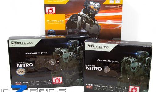 Review: Tarjetas gráficas Sapphire R9 390X Tri-X 8GB, R9 390 Nitro 8GB y R9 380 Nitro 4GB