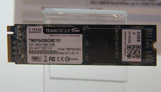 Computex 2015: Team muestra su SSD con interfaz M.2, 2700 MB/s de lectura.