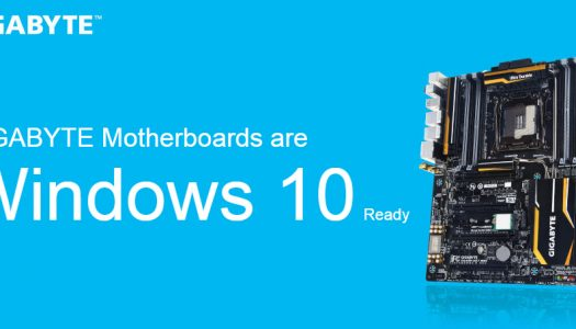 GIGABYTE anuncia la compatibilidad de sus placas madre con Windows 10