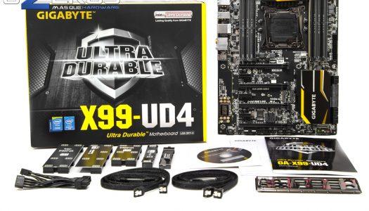 Review: Placa madre GIGABYTE X99-UD4. Una opción para LGA 2011-3 más aterrizada