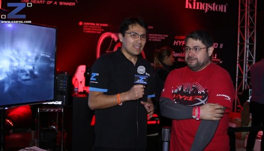 Entrevista a Francisco Silva de HyperX en Desafío League Of Legends 2015 Movistar Arena