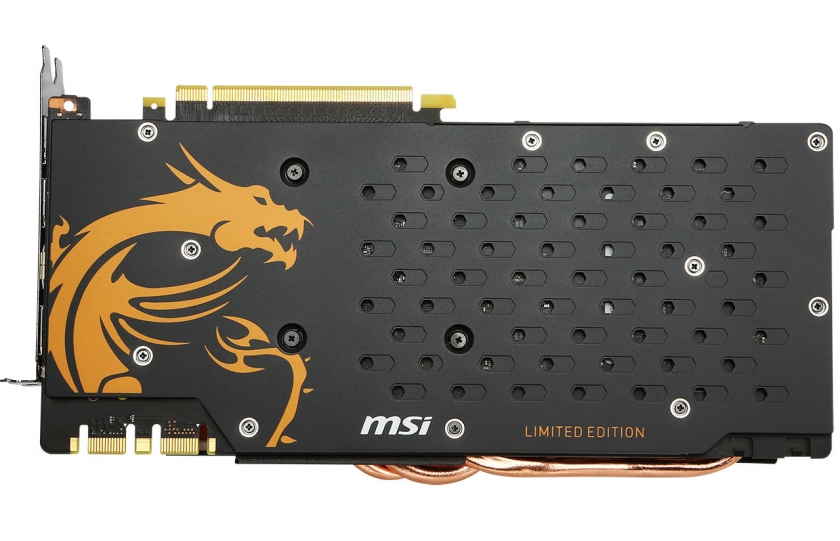 MSI GTX 980 Ti Gaming Golden Edition 4