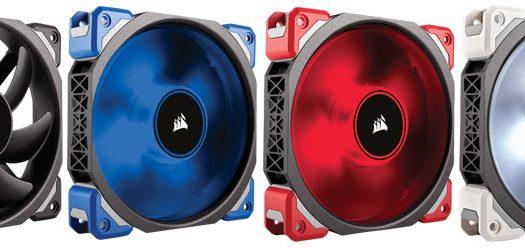 Corsair lanza la nueva serie de ventiladores ML con sus nuevos Rodamientos de Levitacion Magnetica