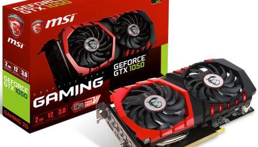 MSI presenta su nueva línea de GeForce GTX 1050 Series con 3 versiones diferentes