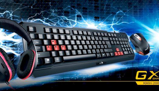 Genius KMH-200: Audífonos, mouse y teclado a precio insuperable