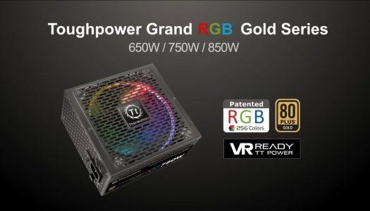 Thermaltake anuncia fuentes de poder con iluminación RGB
