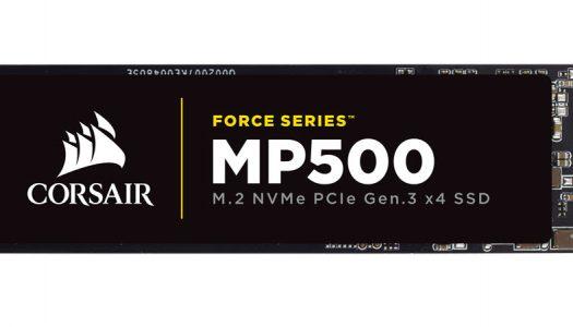 Corsair Force MP500: Unidades de estado sólido M.2 con velocidades inigualables
