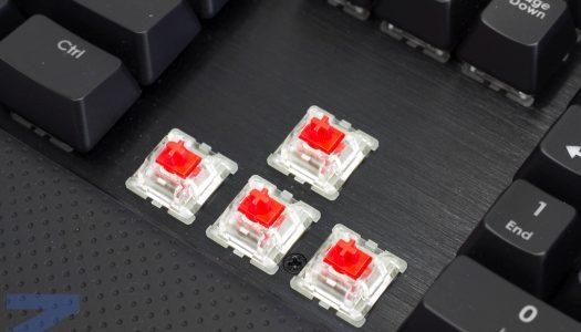 Nuevos switches Cherry MX Silent Black para teclados mecánicos