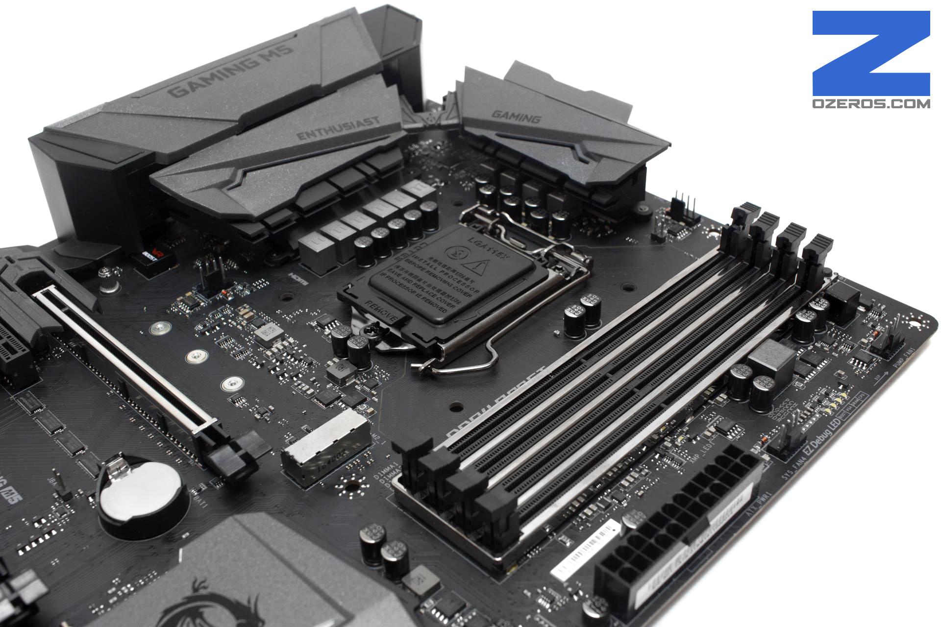 Review: Placa Madre MSI Z270 Gaming M5 - Diseño y balance para el ...