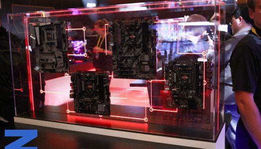 AMD CES 2017: Ozeros visita el showroom de AMD
