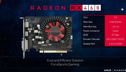 Sapphire lanza una RX 460 desbloqueada con gran mejora en rendimiento