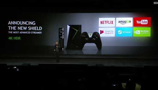 NVIDIA CES 2017: Nueva version de NVIDIA Shield