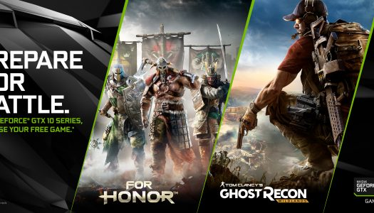 Ghost Recon Wildlands o For Honor de regalo con la compra de tarjetas gráficas NVIDIA