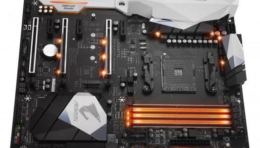 Gigabyte muestra su motherboard AX-370-Gaming 5