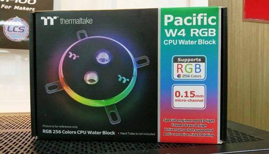Thermaltake anuncia waterblock para CPU con iluminación RGB