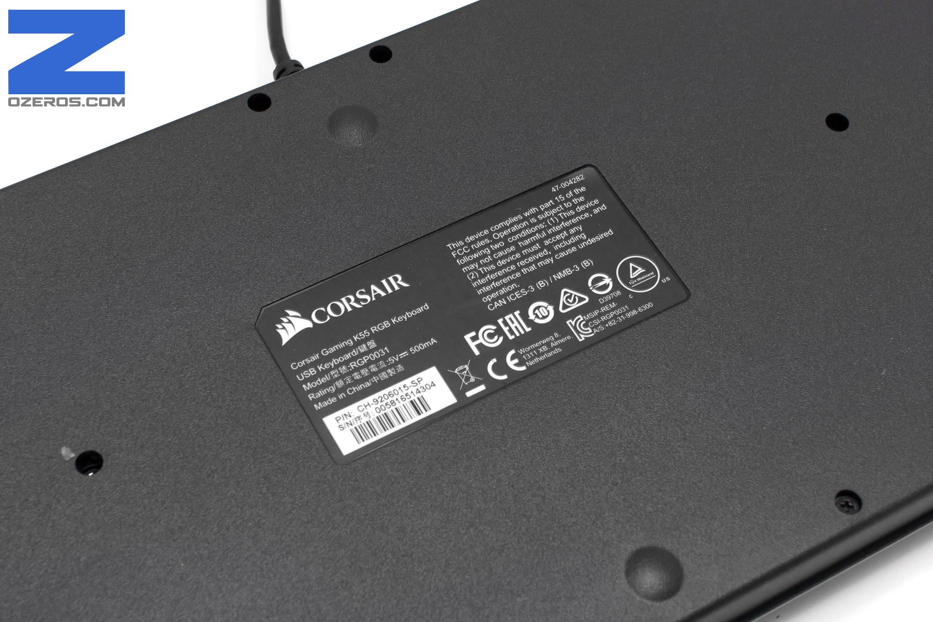 Review: Teclado Corsair K55 RGB – Personalización, diseño y