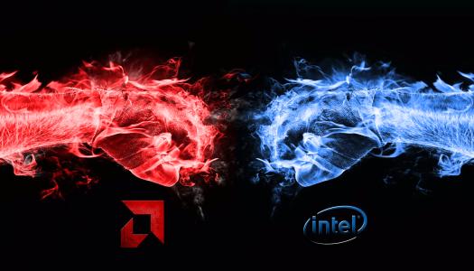 Procesador Intel con tarjeta gráfica integrada AMD en 2017
