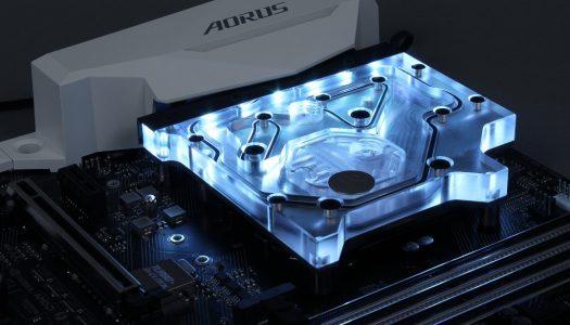 EK Waterblocks lanza un bloque de refrigeración RGB para motherboards Gigabyte