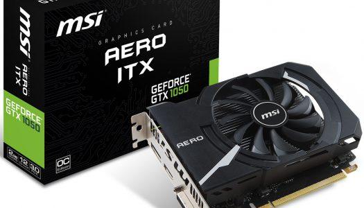 MSI anuncia la línea de tarjetas gráficas compactas Aero ITX