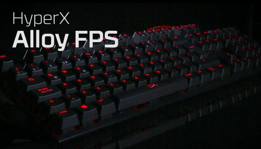 HyperX Alloy FPS ahora con switch Cherry MX Red y MX Brown