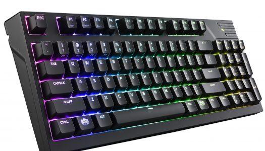 Cooler Master revela nuevos teclados mecánicos con iluminación LED