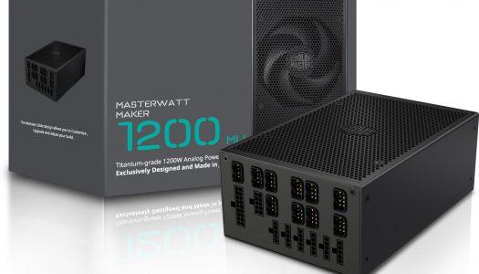 Cooler Master anuncia su nueva fuente de poder, la MasterWatt Maker 1200 MIJ